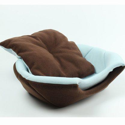 반려동물 접이식 2가지 용도 침대 쿠션  Uses Foldable Soft Warm Pet Cat Bed Dog Bed For Dogs Cave Puppy Sleeping Mat Pad Nest Blanket Pet Beds For Cats Bed House Cat 1