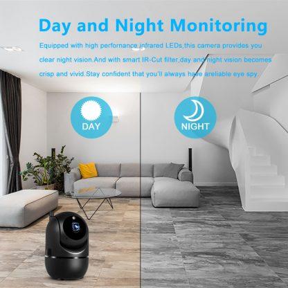 무선 와이파이 카메라 스마트 자동추적 CCTV1080P Wireless IP Camera Cloud Wifi Camera Smart Auto Tracking Human Home Security Surveillance CCTV Network 1