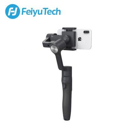 페이유 짐벌 스태빌라이저 스마트폰 유튜브 개인방송용 3축 짐발 디지털FeiyuTech Vimble 2 Feiyu 3-Axis Handheld Gimbal Smartphone Stabilizer Extendable Pole Tripod for iPhone X 8 XIAOMI Samsung 2