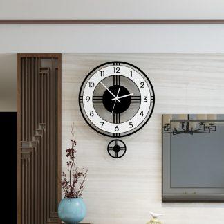모던 클래식 거실 벽시계 Swingable Silent Large Wall Clock Modern Design Battery Operated Quartz Hanging Clocks Home Decor Kitchen Watch Free Shipping