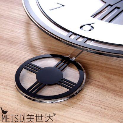 모던 클래식 거실 벽시계 Swingable Silent Large Wall Clock Modern Design Battery Operated Quartz Hanging Clocks Home Decor Kitchen Watch Free Shipping 3