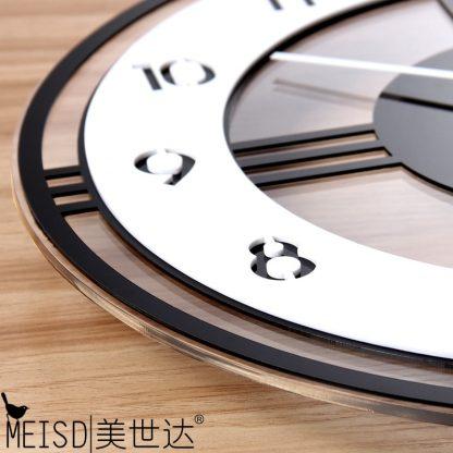모던 클래식 거실 벽시계 Swingable Silent Large Wall Clock Modern Design Battery Operated Quartz Hanging Clocks Home Decor Kitchen Watch Free Shipping 4