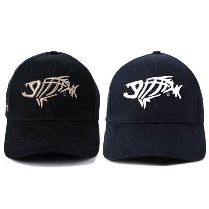 Fashion Baseball Cap for Men Fish bones Embroidery Cotton Caps New Summer Black Dad Hats Male Hip Hop Snapback Cap Adjustable 2