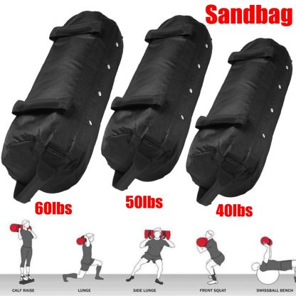 4 Pcs/Set Weightlifting Sandbag Heavy  Sand Bags Sand Bag MMA Boxing Crossfit Military Power Training Body Fitness Equipment 2