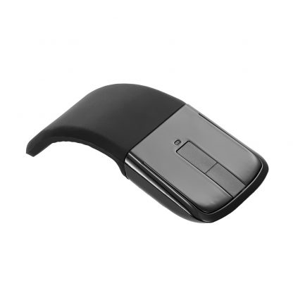 2.4 GHz Flexible Design Fordable Wireless Optical Mouse ARC Touch folding Mice With USB Receiver For Microsoft PC Laptop 1