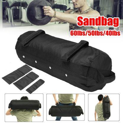 4 Pcs/Set Weightlifting Sandbag Heavy  Sand Bags Sand Bag MMA Boxing Crossfit Military Power Training Body Fitness Equipment