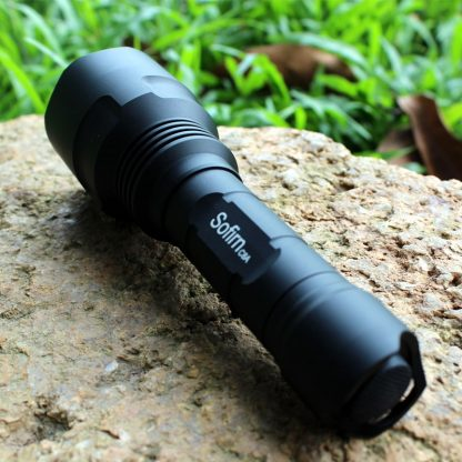 Sofirn C8A Kit Tactical LED Flashlight 18650 Cree XPL2 Powerful 1750lm Flash light High Power Torch Light with Battery Charger 3