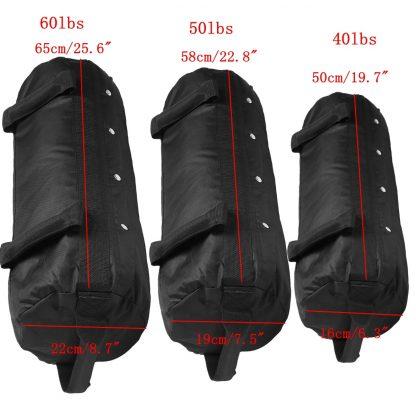 4 Pcs/Set Weightlifting Sandbag Heavy  Sand Bags Sand Bag MMA Boxing Crossfit Military Power Training Body Fitness Equipment 1