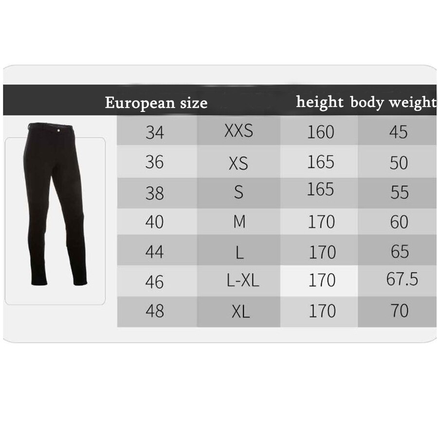 2019NEW Women Equestrian Breeches Women Soft Breathable SkinnyTight Horse Riding Pants Horse Riding Schooling Chaps Black Brown 5