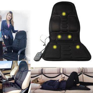 차량용 의자용Neck Massager vibrator heat Chair electric Massage Chairs Seat Back Neck massagem Cushion Heat Pad For leg Waist Body Massager