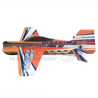 DW Hobby EPP 3D RC Airplane Sakura Glider Toy Planes Remote Control Airplane 451mm Wingspan Unassembled Kits 3