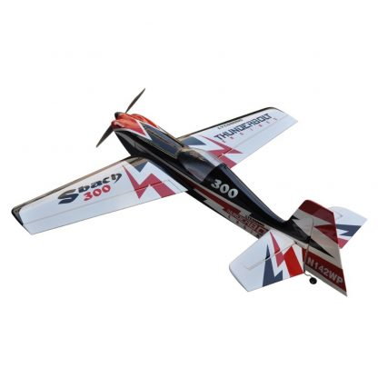Flight Sbach 300 55inch 3D Electric Balsa Wood 3D Flying RC Fixed Wing Airplane Model 1