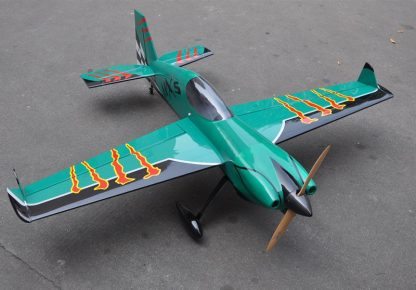MXS-R 20cc 3D Balsa Wood Fixed Wing RC Airplane Model Aircraft 64 2