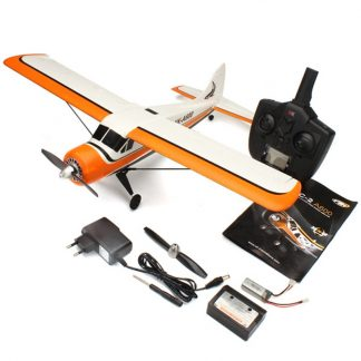 2018 New XK DHC-2 DHC2 A600 5CH 3D 6G System Brushless Motor RC Airplane Compatible for Futaba RTF Mode 1/2 Rolling
