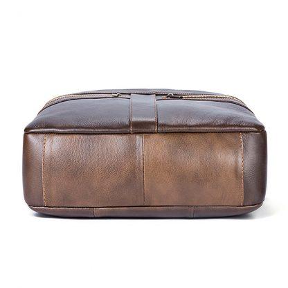 WESTAL Bag men's Genuine Leather briefcase Male man laptop bag natural Leather for men Messenger bags men's briefcases 2019 3