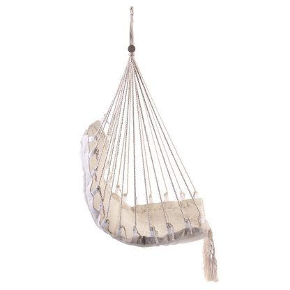 Nordic Style Hammock Outdoor Indoor Furniture Swing Hanging Chair for Children Adult Garden Dormitory Single Safety Chair 3