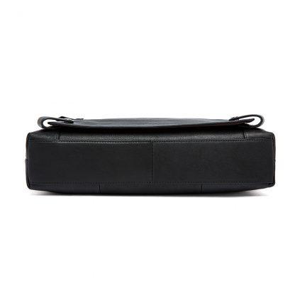 WESTAL Men Briefcases Genuine Leather Men's Bag Business Briefcases laptop Handbags Messenger Bag Men Leather Office Bag 9013 3