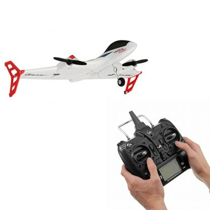 XK X520 6CH 3D/6G RC Airplane Toy VTOL Vertical Takeoff Land Delta Wing RC Dron Fixed Wing Plane with Mode Switch LED Light Gift 1