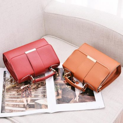 REPRCLA 2018 Summer Fashion Women Bag Leather Handbags PU Shoulder Bag Small Flap Crossbody Bags for Women Messenger Bags 3