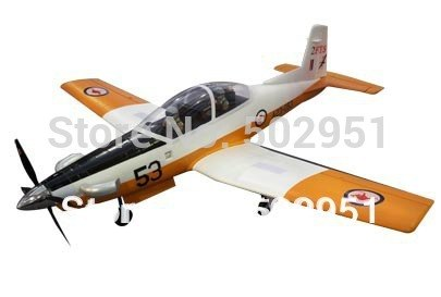 PC-9  6 CH 2.4GHz Radio Remote Control Electric RC Airplane PNP and KIT,PC9,PC 9 1