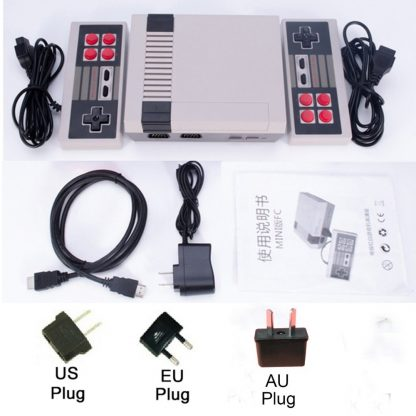 Dropshipping HDMI/AV Output Mini TV Handheld Retro Video Game Console with Classic 500 games Built-in for 4K TV PAL & NTSC 2