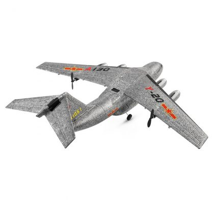 XK A130-Y20 RC Airplane 2.4G 3CH 500mm Wingspan EPP RTF Built-in Gyro Model Flying Outdoor Toys  Fixed Wing Aircraft 2