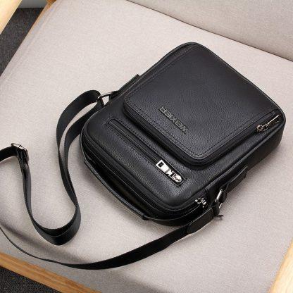 Casual Men Crossbody Bags Pu Leather Messenger Bag Designer Men Handbag Top Quality Male Shoulder Bags WBS502 1