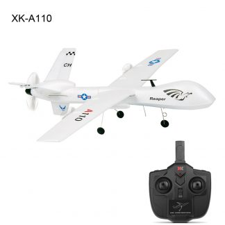 XK A110 EPP 565mm Wingspan 2.4G 3CH DIY Glider Plane Kids Gift Toy RC Airplane Outdoor RTF Built-in Gyro Interesting Toys