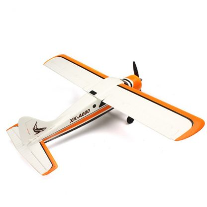 2018 New XK DHC-2 DHC2 A600 5CH 3D 6G System Brushless Motor RC Airplane Compatible for Futaba RTF Mode 1/2 Rolling 2