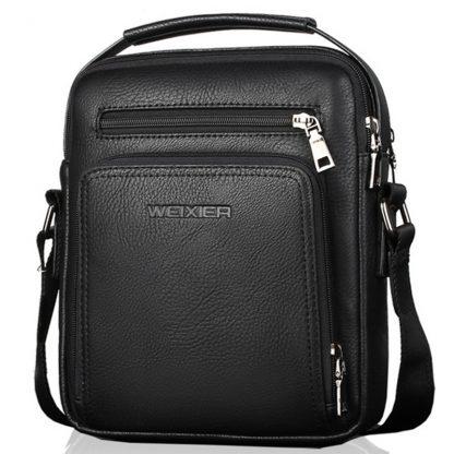 Casual Men Crossbody Bags Pu Leather Messenger Bag Designer Men Handbag Top Quality Male Shoulder Bags WBS502