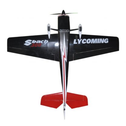 Flight Sbach 300 55inch 3D Electric Balsa Wood 3D Flying RC Fixed Wing Airplane Model 3