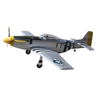 New Arrival Dynam P-51D for Mustang V2 Silver 1200mm Wingspan EPO Warbird RC Airplane PNP Toy Kids Gift Present