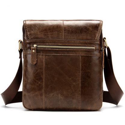 MVA Shoulder Bag for Men Men's Genuine Leather Bag Vintage Messenger Bags Men Leather Small Crossbody Bags for ipad handbag 1121 1