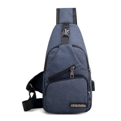 Male Shoulder Bags USB Charging Crossbody Bags Men Anti Theft Chest Bag School Summer Short Trip Messengers Bag 2019 New Arrival 5