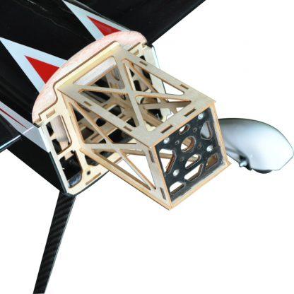 Flight Sbach 300 55inch 3D Electric Balsa Wood 3D Flying RC Fixed Wing Airplane Model 5