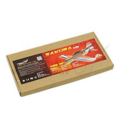 DW Hobby EPP 3D RC Airplane Sakura Glider Toy Planes Remote Control Airplane 451mm Wingspan Unassembled Kits 4