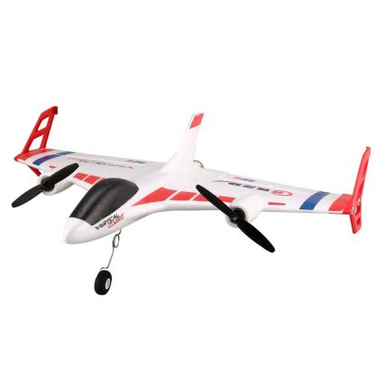 XK X520 6CH 3D/6G RC Airplane Toy VTOL Vertical Takeoff Land Delta Wing RC Dron Fixed Wing Plane with Mode Switch LED Light Gift