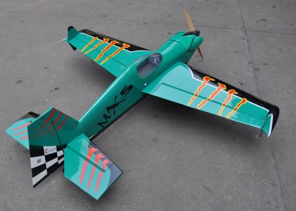 MXS-R 20cc 3D Balsa Wood Fixed Wing RC Airplane Model Aircraft 64 3