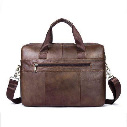 WESTAL Bag men's Genuine Leather briefcase Male man laptop bag natural Leather for men Messenger bags men's briefcases 2019 2