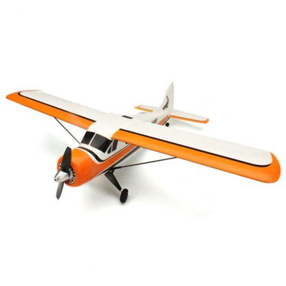 2018 New XK DHC-2 DHC2 A600 5CH 3D 6G System Brushless Motor RC Airplane Compatible for Futaba RTF Mode 1/2 Rolling 1