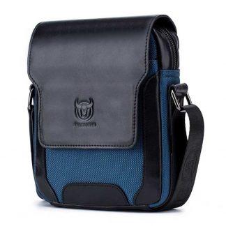 BULLCAPTAIN Brand Designer Men's Messenger Bags Leather Vintage Men Shoulder Handbag Man Crossbody Bag for Male Dropshoping