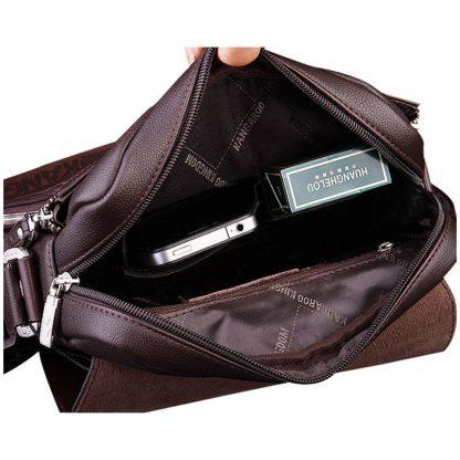 New Arrived luxury Brand men's messenger bag Vintage leather shoulder bag Handsome crossbody bag handbags Free Shipping 1