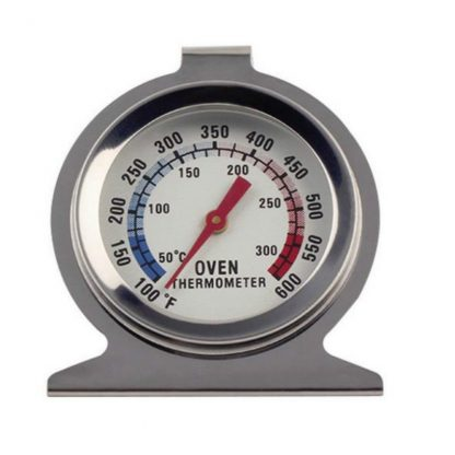 1Pcs Food Meat Temperature Stand Up Dial Oven Thermometer Stainless Steel Gauge Gage Large Diameter Dial Kitchen Baking Supplies 1