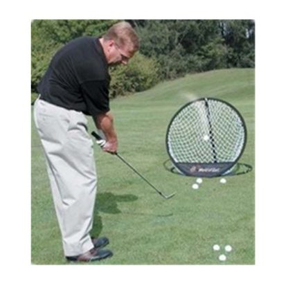1pcs Black Portable Pop Up Golf Chipping Pitching Practice Net Training Aid Tool Golf Accessories 1
