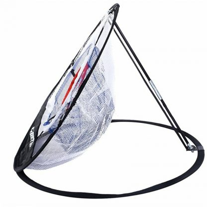 PGM Golf Pop UP Indoor Outdoor Chipping Pitching Cages Mats Practice Easy Net Golf Training Aids Metal + Net  1