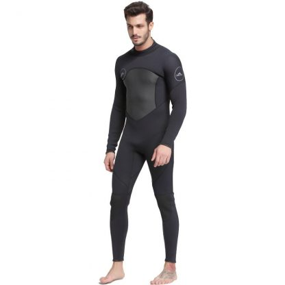 Sbart New One-Piece Neoprene 3mm Diving Suit Winter Long Sleeve Men Wetsuit Prevent Jellyfish Snorkeling Suit Free Shipping S753 1