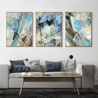 3 Piece Canvas painting Modern Abstract Art Home Decor Oil painting Wall Art Picture Canvas Prints Poster Living Room Decoration