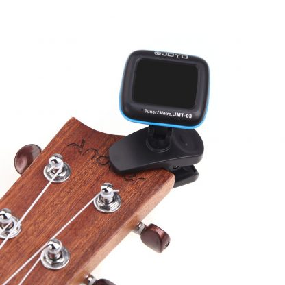 JOYO JMT-03 Portable Guitar Tuner Metronome Digital Tuner Clip Mic for Chromatic Guitar Bass Ukulele Violin 5
