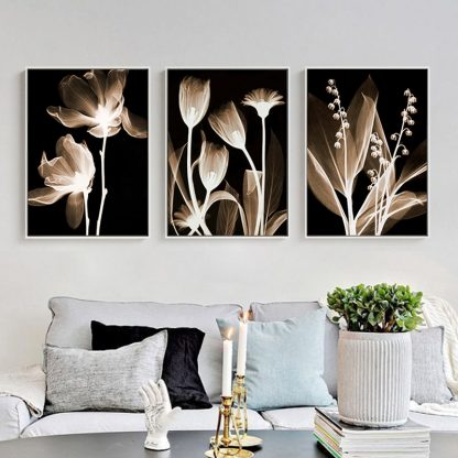 3 Piece Canvas painting Modern Abstract Art Home Decor Oil painting Wall Art Picture Canvas Prints Poster Living Room Decoration 3