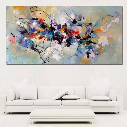 Hot Sell Canvas Painting Abstract Wall Art Wall Pictures For Living Room Home Decoration Canvas Printing Free shipping 2